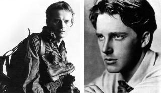 Fotografiji dveh najvplivnejših osebnosti, ki sta promovirali idejo večne mladosti in svobode izražanja v 20. stoletju:  Bruce Chatwin (levo), Rupert Brooke (desno).