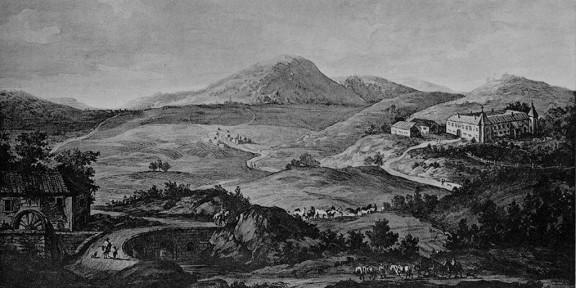 Prestranek, 1779, litografija